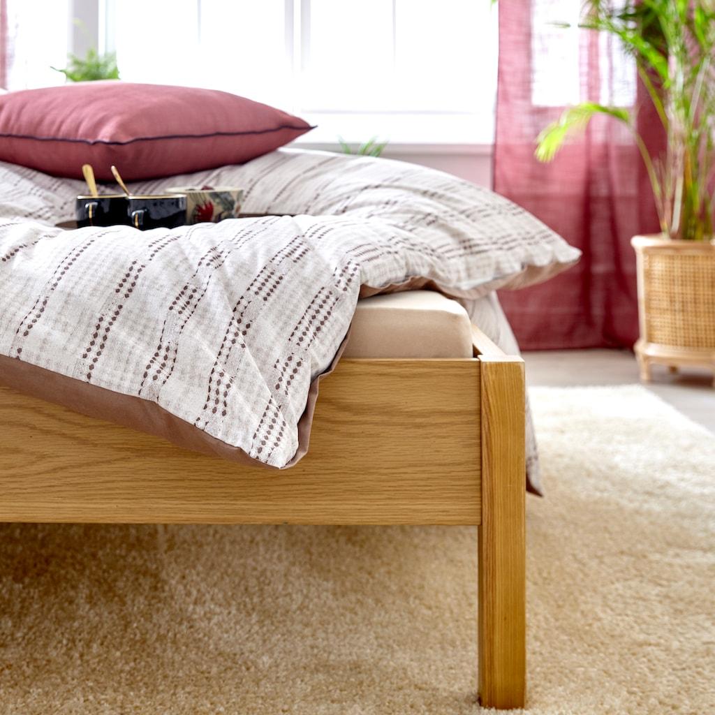 COUCH♥ Kissenhüllen »Knautschkumpel«, (2 St., 30x50cm-50x50cm), mit Streifen und unifarben, Couch Lieblingsstücke