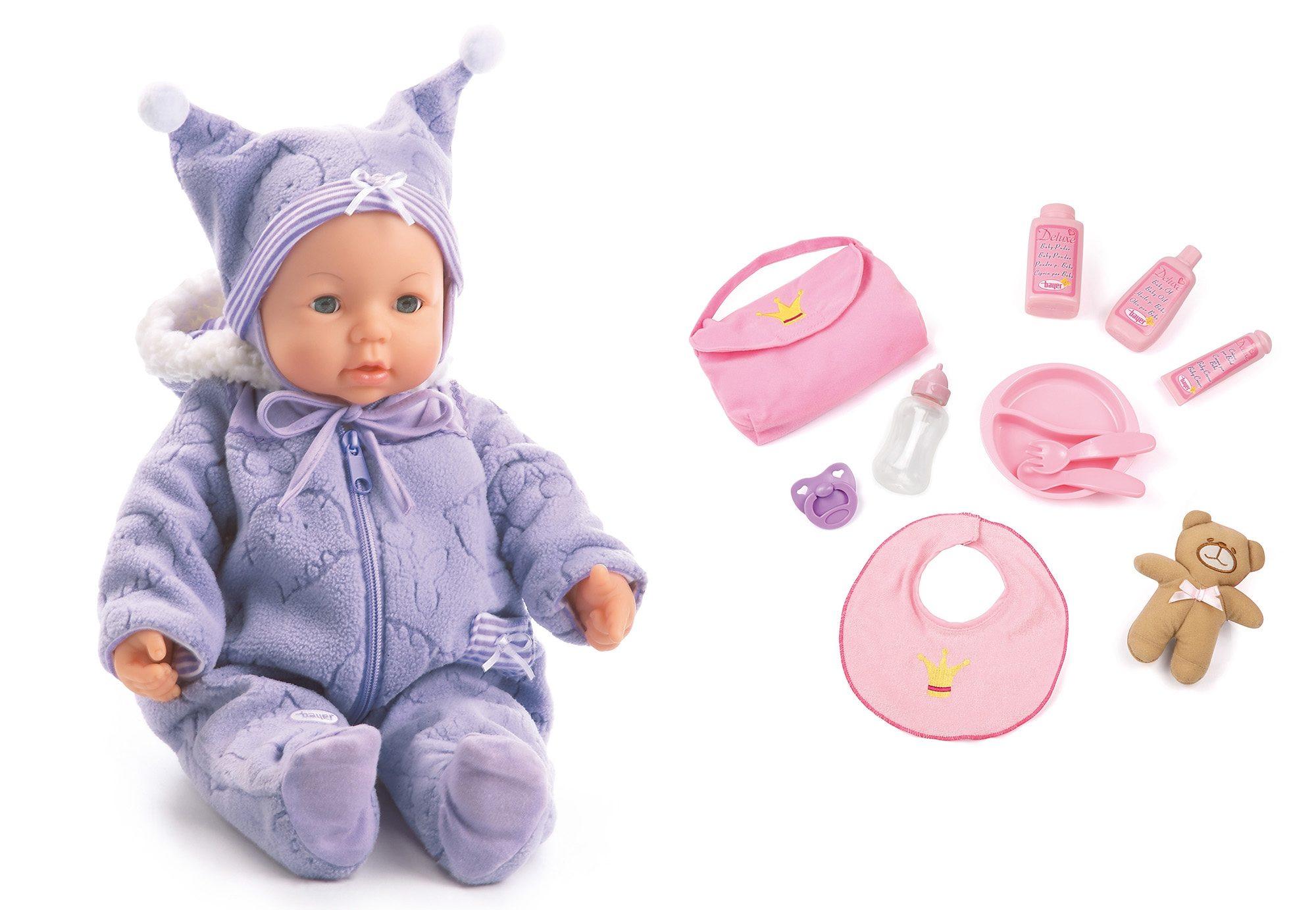 Image of Bayer Design Babypuppe mit Funktion inkl. Zubehör, »Piccolina Magic Eyes«