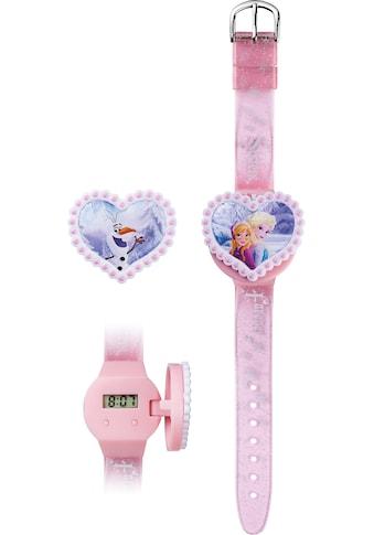 Joy Toy Digitaluhr »Disney's Eiskönigin, 755557«, (Packung, 3 tlg., LCD-Uhr mit 2 herzförmigen Abdeckmotiven) kaufen