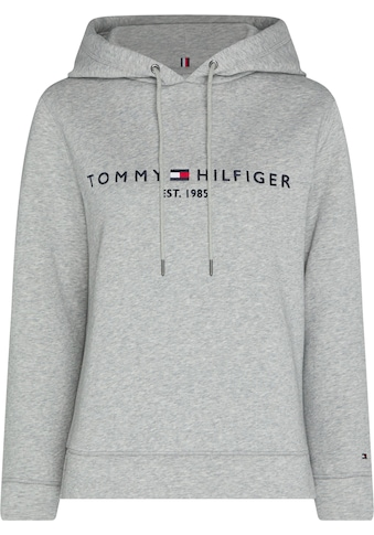 TOMMY HILFIGER Kapuzensweatshirt »TH ESS HILFIGER HOODIE LS«, mit gesticktem Tommy Hilfiger Linear-Logo & Flag kaufen