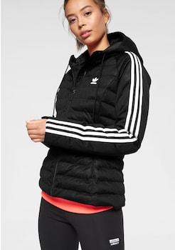 Adidas Originals Steppjacke Jacke Übergangsjacke schwarz