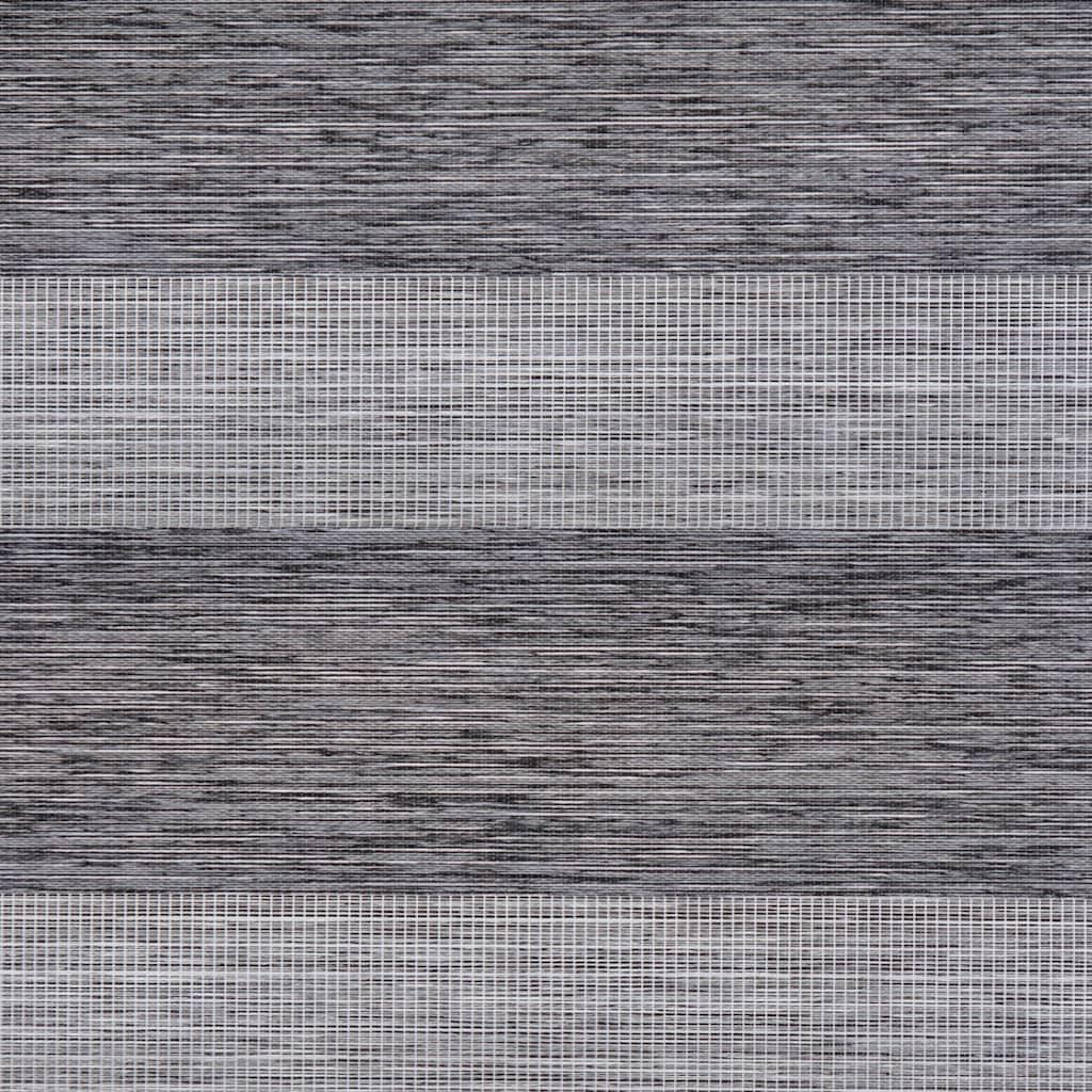 LICHTBLICK ORIGINAL Doppelrollo »Duo Rollo Klemmfix, ohne Bohren, meliert, go green«, halbtransparent, freihängend