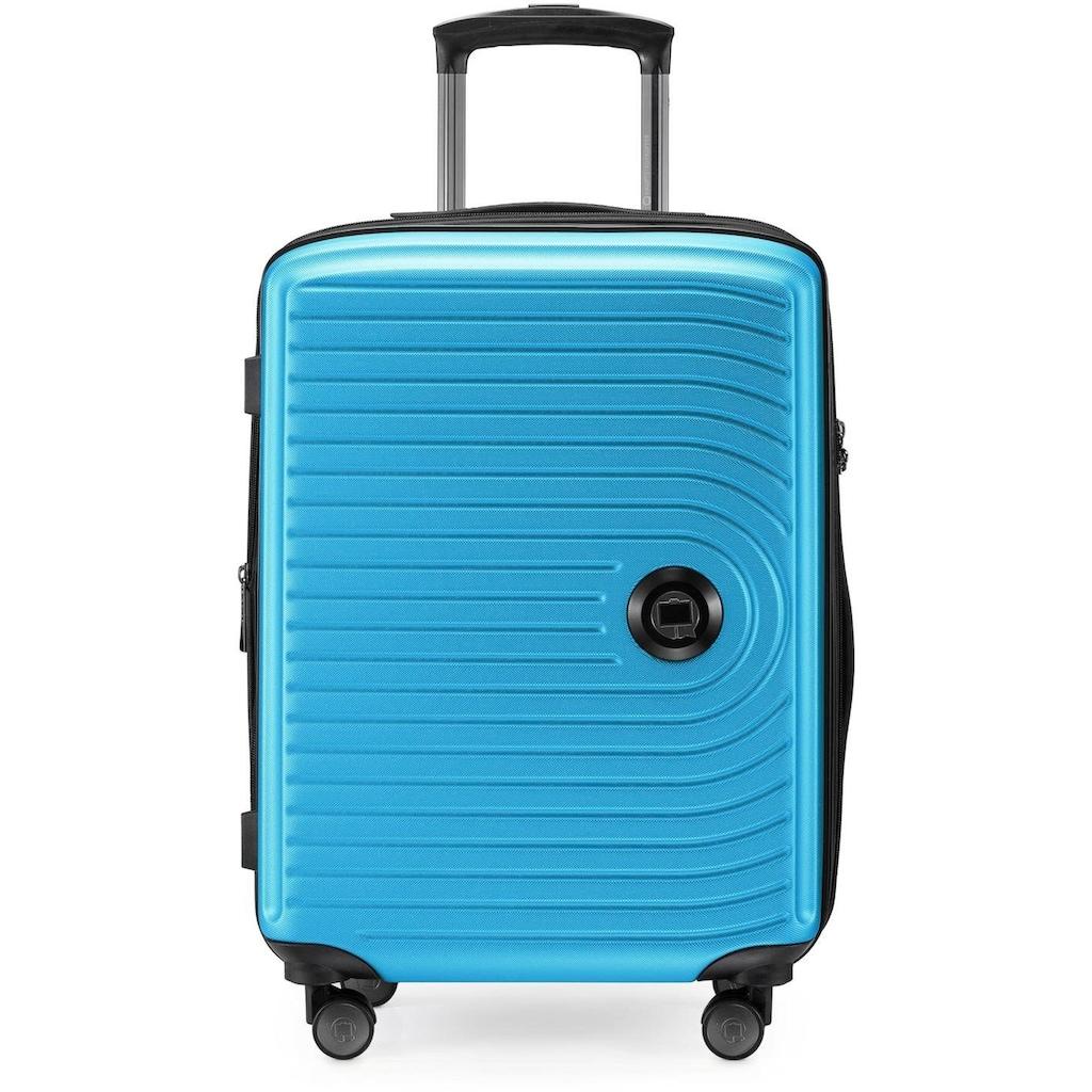Hauptstadtkoffer Hartschalen-Trolley »Mitte, 55 cm, cyanblau«, 4 Rollen
