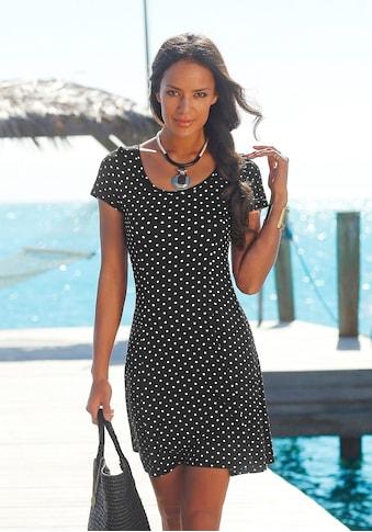 Beachtime Sommerkleid, mit Pünktchenprint kaufen