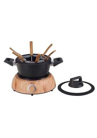 Fleischfondue - Set, Nouvel, »Wood« kaufen