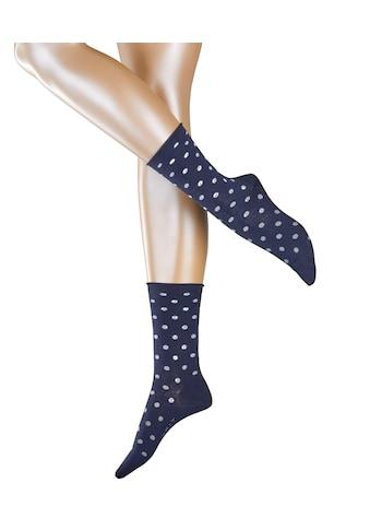 Esprit Socken »Multicolour Dot«, (1 Paar), mit femininen Rollrand kaufen