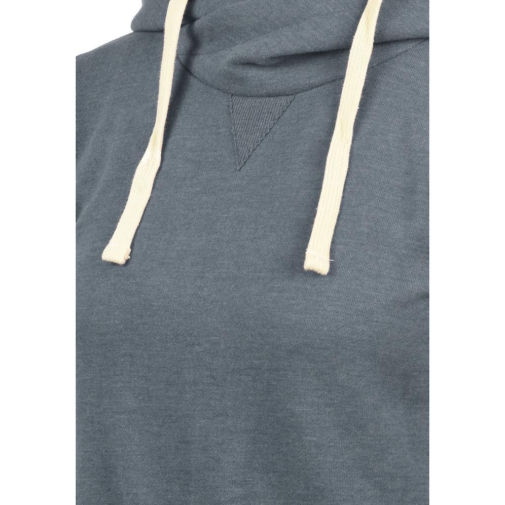 Blendshe Hoodie »Jenny«, lang geschnittenes Kapuzensweatshirt