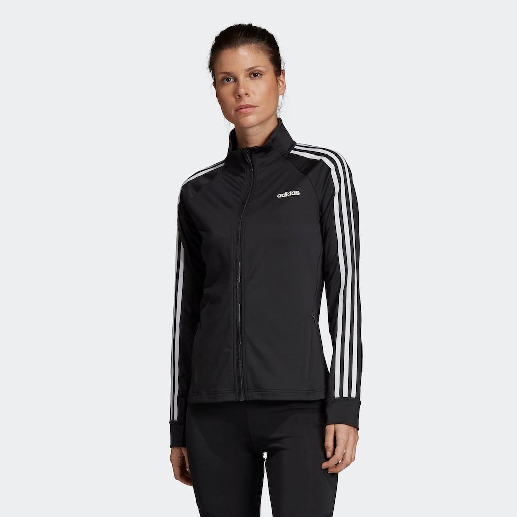 adidas Performance Trainingsjacke »DESIGNED 2 MOVE 3-STREIFEN«