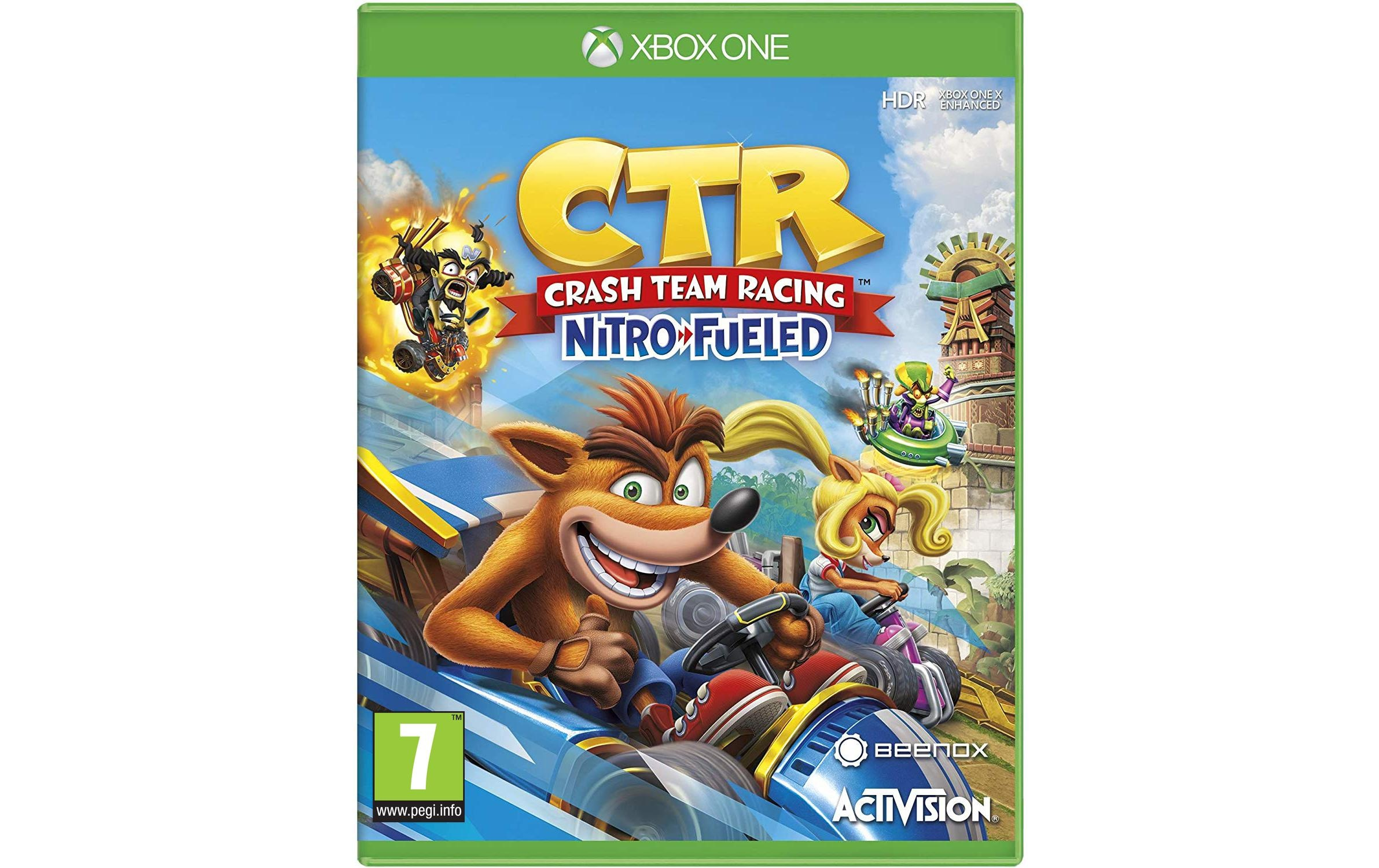 Image of ACTIVISION BLIZZARD Spiel »Crash Team Racing: Nitro-Fueled«, Xbox One