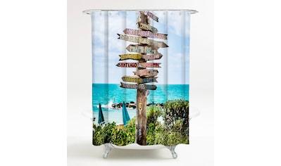 Sanilo Duschvorhang »Key West«, Breite 180 cm, Höhe 200 cm kaufen