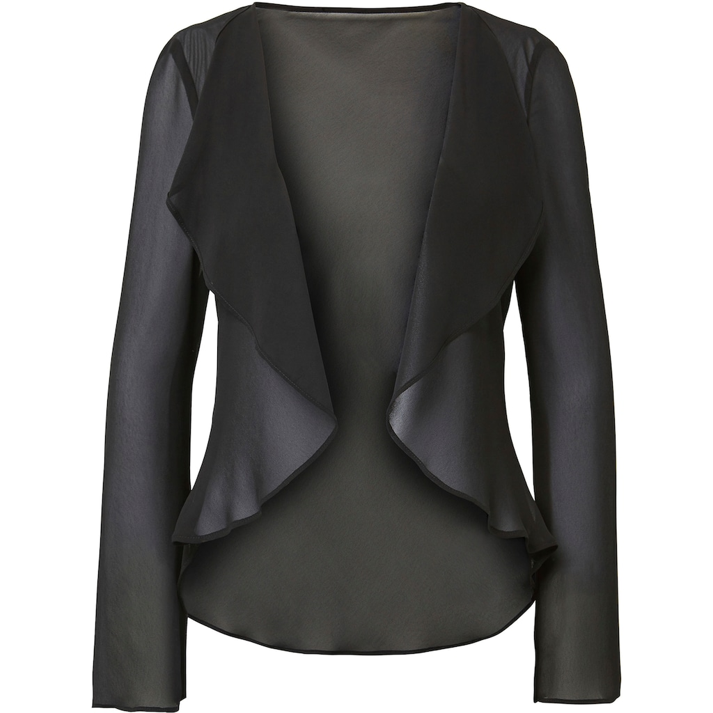 HERMANN LANGE Collection Blusenblazer »Ella«, aus Chiffon