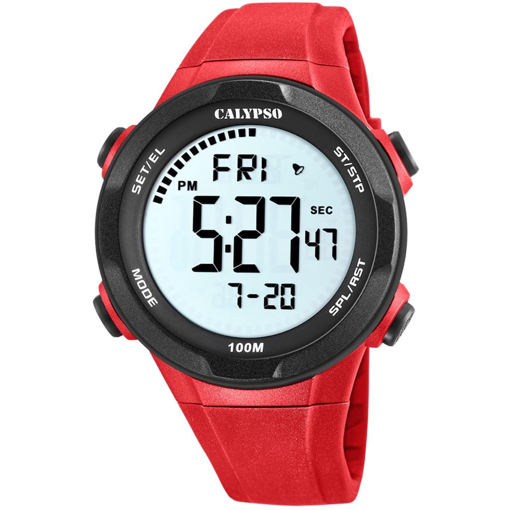 CALYPSO WATCHES Chronograph »Digital For Man, K5780/5«