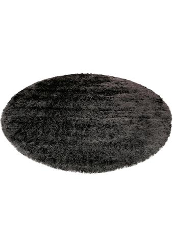 Esprit Hochflor-Teppich »City Glam«, rund, 70 mm Höhe, weiche Haptik, Wohnzimmer kaufen
