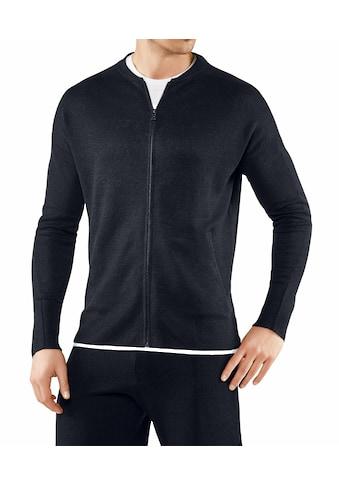 FALKE Strickjacke »Zip-Jacke«, aus leichter Leinenmischung kaufen