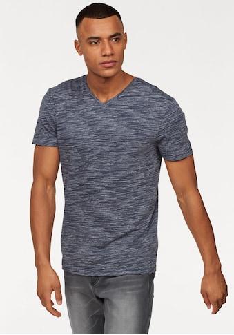John Devin T-Shirt, mit Melange-Optik kaufen