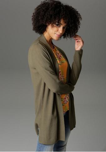 Aniston CASUAL Strickjacke, im Perlstrick-Muster kaufen