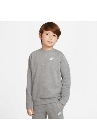 Nike Sportswear Sweatshirt »Nike Sportswear Big Kids' French Terry Crew« kaufen
