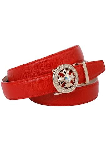 Anthoni Crown Ledergürtel, Damengürtel mit filigraner Schliesse kaufen