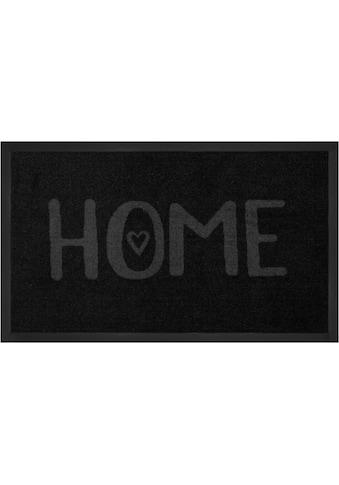 Fussmatte, »Lovely Home«, HANSE Home, rechteckig, Höhe 5 mm, maschinell getuftet kaufen