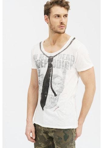 trueprodigy T-Shirt »Skull & Tie«, mit Totenkopf und Krawatten Motiv kaufen