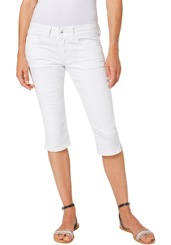 Pepe Jeans Caprijeans »SATURN CROP«, mit Stretch & doppelter Gesässtasche kaufen