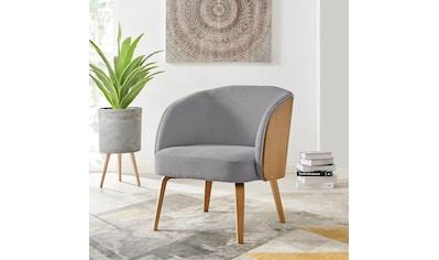 andas Sessel »Alzey«, mit Beinen aus Bugholz und einem pflegeleichten Strukturstoff,... kaufen