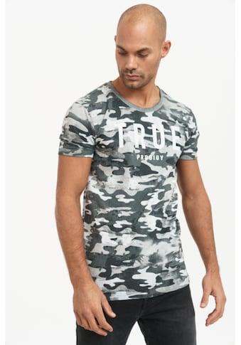 trueprodigy T-Shirt »Jase«, mit Logo-Druck und Tarnfarben-Optik kaufen