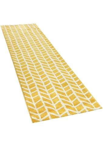 Paco Home Läufer »Pattern 120«, rechteckig, 18 mm Höhe, Teppich-Läufer, Kurzflor, gewebt kaufen