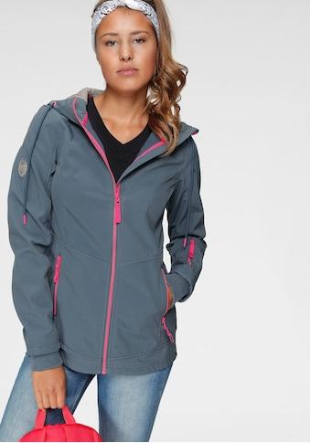 Ocean Sportswear Softshelljacke, mit Kontrastdetails kaufen
