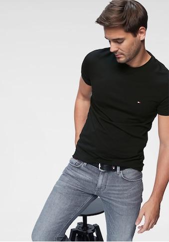 TOMMY HILFIGER T-Shirt »CORE STRETCH SLIM CNECK TEE« kaufen