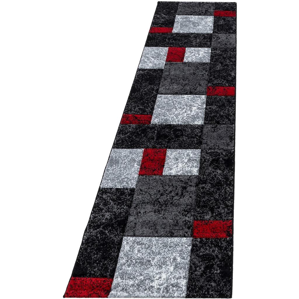 Ayyildiz Läufer »Hawaii 1330«, rechteckig, 13 mm Höhe, handgearbeiteter Konturenschnitt, 80cm x 300cm (BxL)