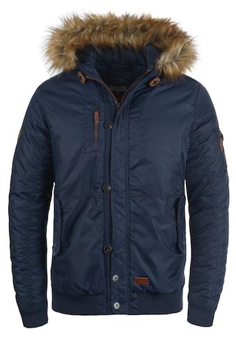 Blend Winterjacke »Egon«, warme Jacke mit abnehmbarem Kunstfellkragen kaufen
