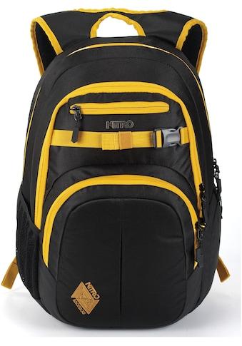 NITRO Schulrucksack »Chase, Goldfarbenen Black« kaufen