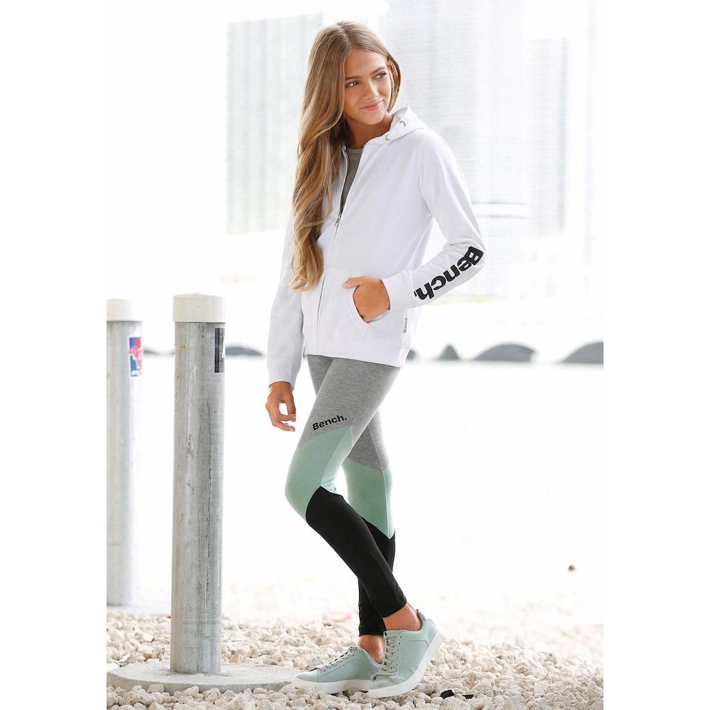Bench. Leggings, mit modischen Einsätzen