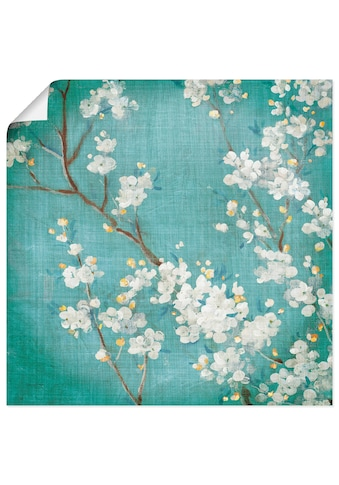 Artland Wandbild »Weisse Kirschblüten II«, Blumen, (1 St.), in vielen Grössen &... kaufen