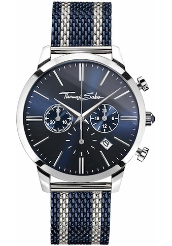 THOMAS SABO Chronograph »REBEL SPIRIT CHRONO, WA0285 - 281 - 209« kaufen