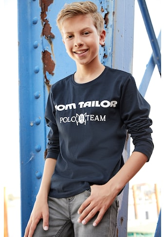 TOM TAILOR Polo Team Langarmshirt kaufen