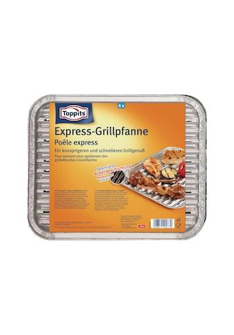 Grillschale »Express-Grillpfanne«, Aluminium, (4 St.) kaufen