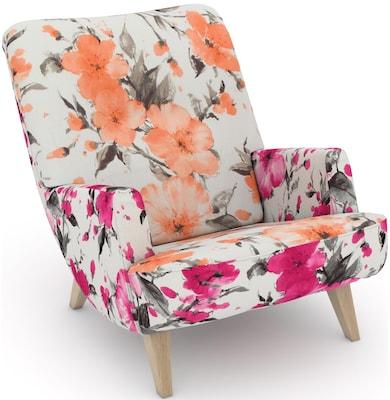 Sessel mit Blumenmuster