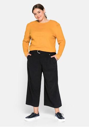 Sheego 7/8-Hose, mit angeschnittenem Bund kaufen