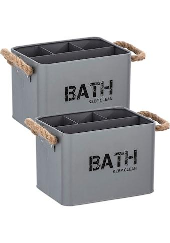 WENKO Aufbewahrungsbox »Gara«, (Set, 2 St.) kaufen