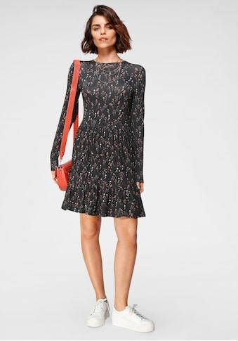 Tamaris Jerseykleid, mit Volants kaufen
