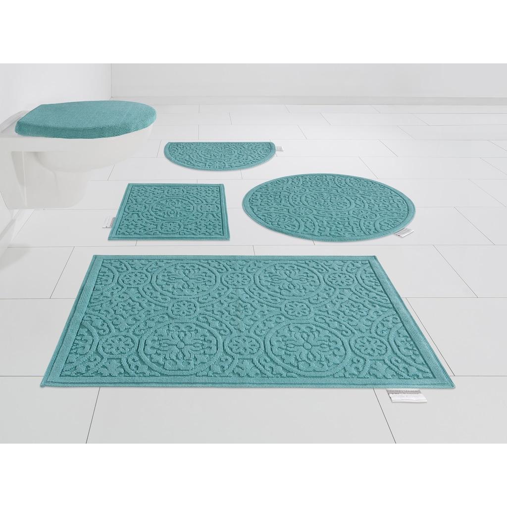 Guido Maria Kretschmer Home&Living Badematte »Garden Pastels«, Höhe 3 mm, fussbodenheizungsgeeignet, Pastell