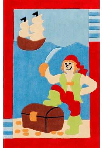 Böing Carpet Kinderteppich »Kids 1364«, rechteckig, 10 mm Höhe, Konturenschnitt kaufen