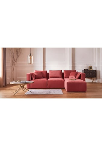 Guido Maria Kretschmer Home&Living Ecksofa »Marble«, zusammengesetzt aus Modulen, 3... kaufen