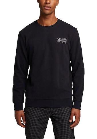 edc by Esprit Sweatshirt, mit dezentem Print kaufen