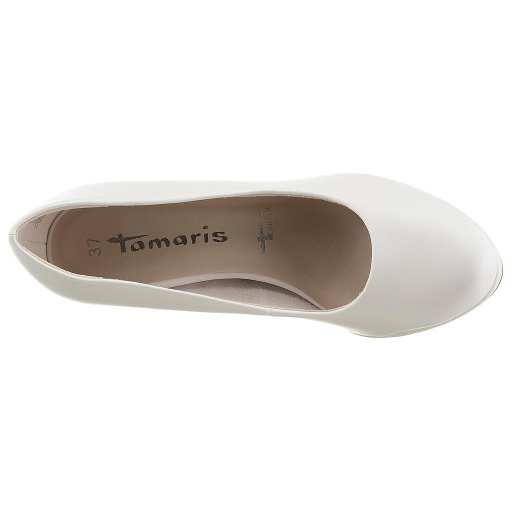 Tamaris Pumps »Jessa«, mit Touch It-Dämpfung
