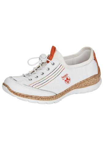 Rieker Slip-On Sneaker, mit bunten Ziernähten kaufen
