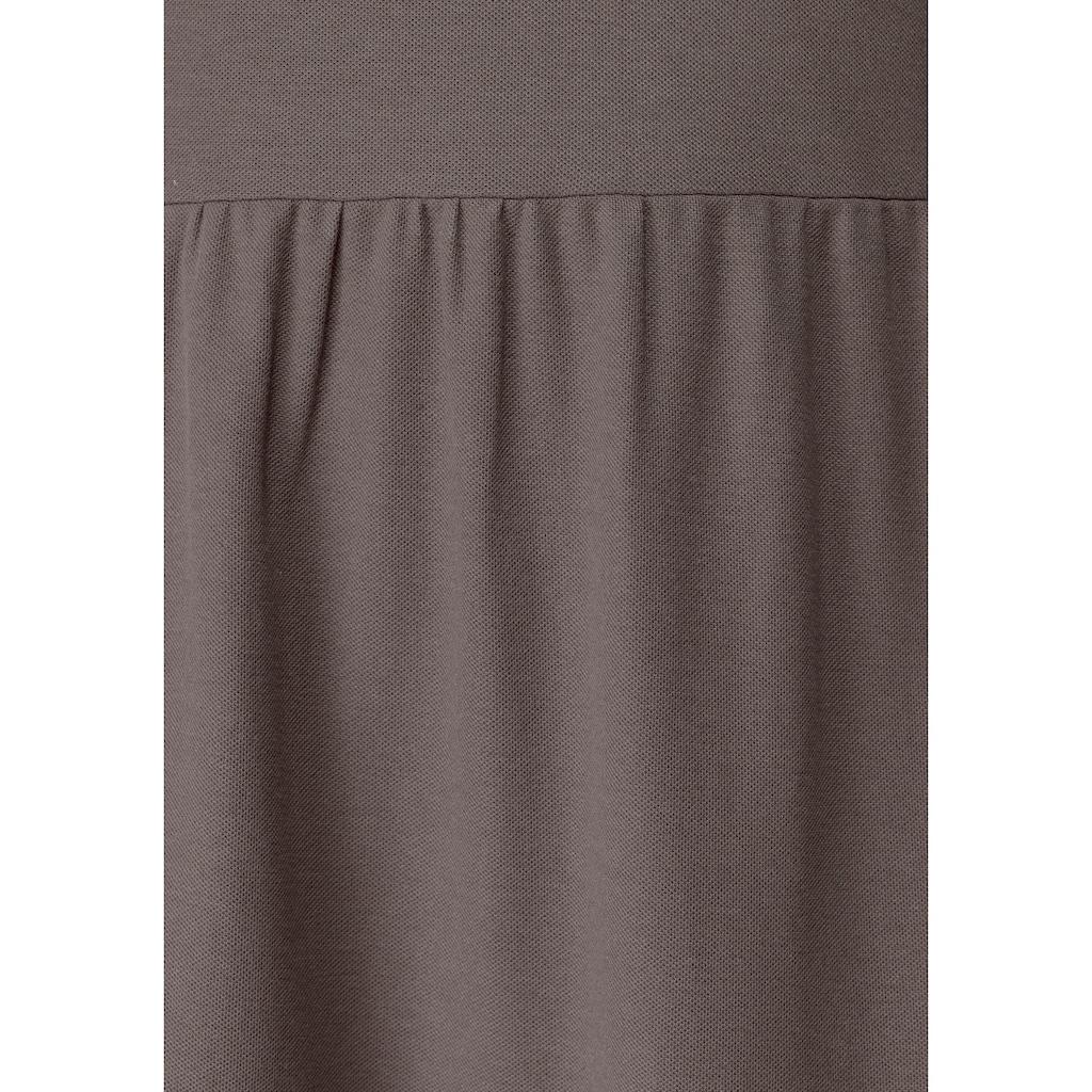 Boysen's Volantkleid, aus strukturiertem Jersey