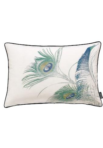 emotion textiles Kissenhülle »Pfaufeder« kaufen